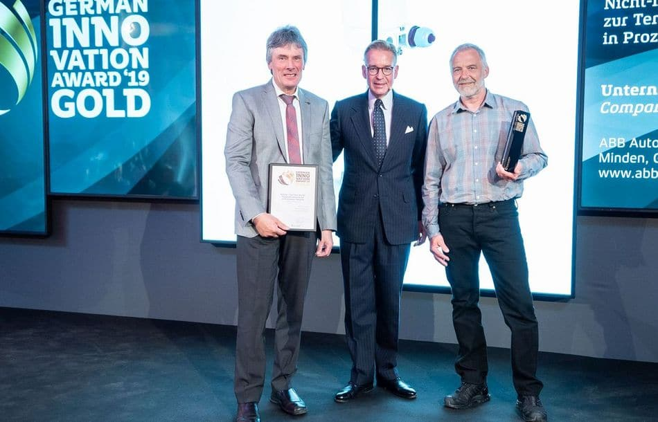 ABB erhält German Innovation Award