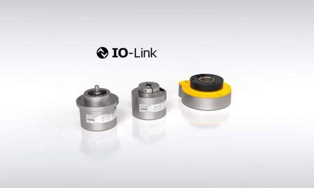 IO-Link-Drehgeber für verbesserte Regelkreise