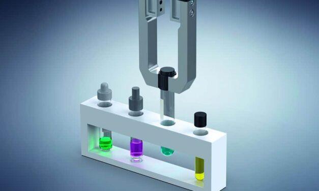E-Greifer-Variante für Kleinteile-Handling