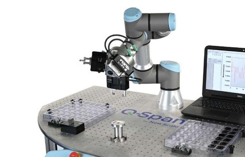 Greifer mit Messfunktion für UR-Roboter