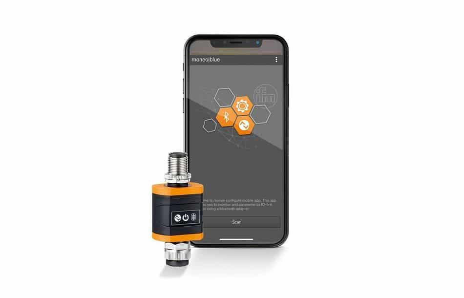 Sensoren per App via Bluetooth parametrieren