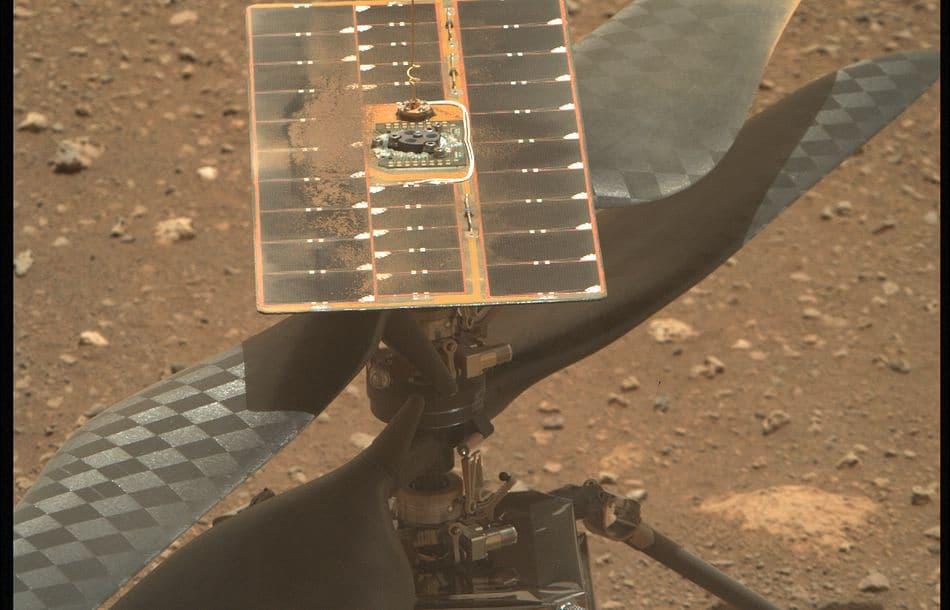 Mars-Helikopter schreibt Geschichte