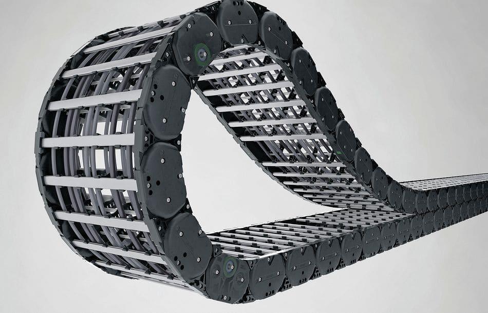 Langlebige Heavy-Duty-Energiekette