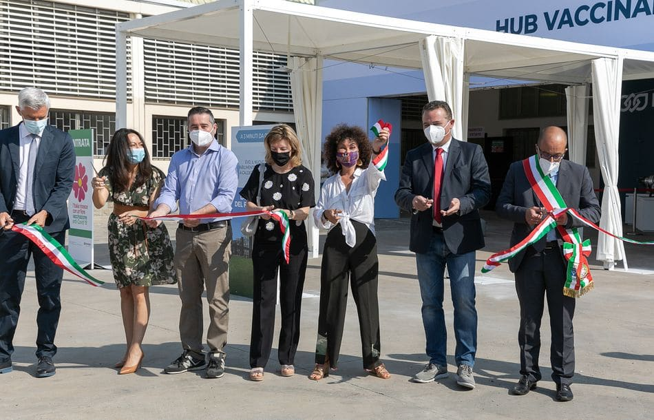 Bonfiglioli eröffnet Impfzentrum