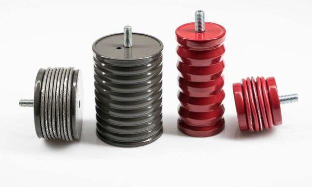 Crash-Dämpfer Aluminium und Stahl für den Not-Stopp